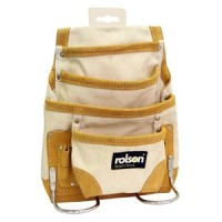 Rolson Cotton Canvas Single Tool Pouch
