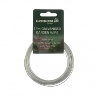 Green Jem 14m Galvanised Garden Wire
