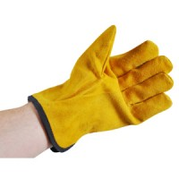 Kingfisher Gents Lined Bramble Leather Gloves