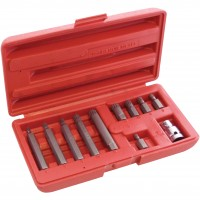 Am-Tech 11pc Spline Bit Set