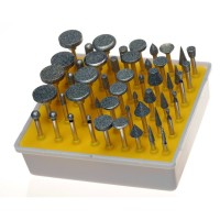 Toolzone 50pc Diamond Burr Set 120 grit