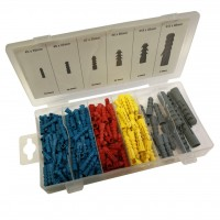 Toolzone 220pc Wall Plug Assortment