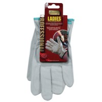 Kingfisher Ladies Leather Working Gloves Small