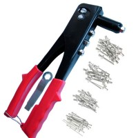 Toolzone Four Head Rivet Gun with 75 Rivets
