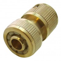 Green Jem Female Brass Hose Fitting