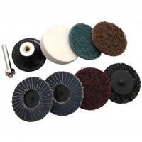 """Toolzone 9pc 2"""" Sanding and Prepping Set"""