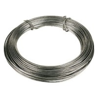 Toolzone Garden Wire Zinc Coated 125m