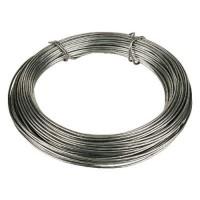 Toolzone Garden Wire Zinc Coated 125m