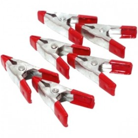 Toolzone 6pc 2in Metal Spring Clamps