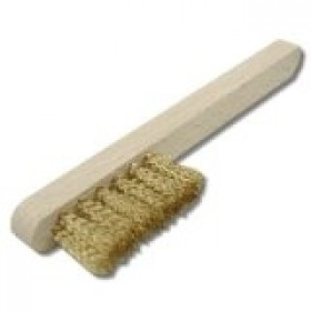 Toolzone Brass Spark Plug Brush 7""