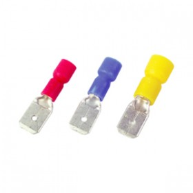 Toolzone 40pc Red-Blue-Yellow Male Terminals