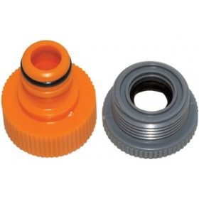 Am-Tech Hose End Threaded Tap Connector