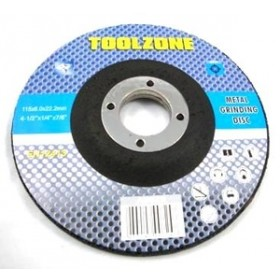 Toolzone Metal Grinding Disc 115mm