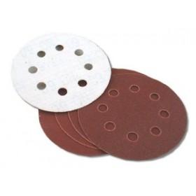 Toolzone 5pc 125mm Velcro Pex Discs