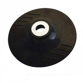 Toolzone 115mm Rubber Backing Pad