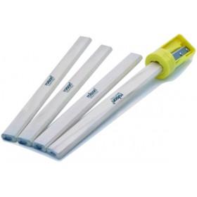 Toolzone Carpenters Pencils & Sharpener