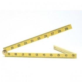 Toolzone 1m Folding Plastic Rule