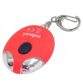 Rolson 2 LED Solar Light Key Ring