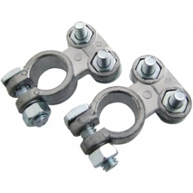 Am-Tech 2pc Battery Terminal Clamps