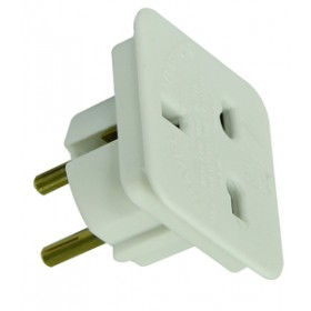 Rolson 2pc Europe Travel Plug Pack