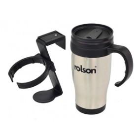 Rolson Stainless Steel Travel Mug