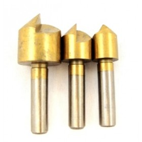 Toolzone 3pc HSS Countersink Set