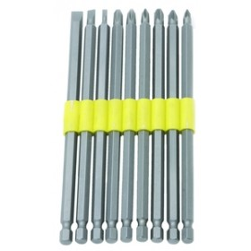 Rolson 9pc Power Bit Set 150mm