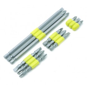 Am-Tech 12pc Assorted Power Bit Set