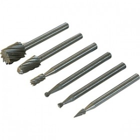 Silverline 6pc HSS Router Cutters