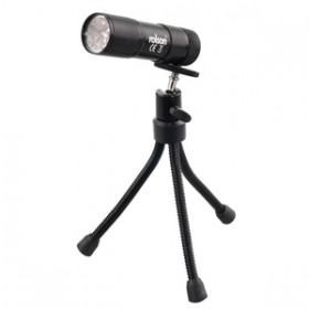 Rolson 9 LED Torch with Flexi Tripod
