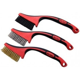 Am-Tech 3pc Multi Purpose Brush Set