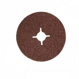 Silverline 10pc 24 Grit, 125 x 22.2 mm Fibre Discs