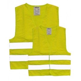 Rolson 2pc Hi Vis Vest Child and Adult Sizes