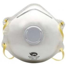 Toolzone Valved Dust Mask 3pc