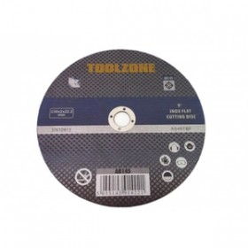 """Toolzone 5pc 9"""" Stainless Steel Cutting Disc"""
