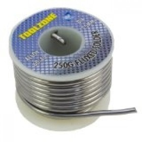 Toolzone 250g Fluxed Solder
