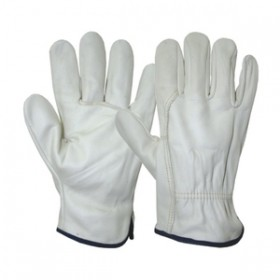 Kingfisher Mens Leather Working Gloves