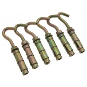 Am-Tech Open Hook Expansion Bolts M8