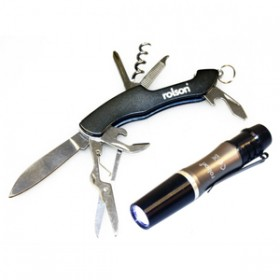 Rolson Mini Multi Tool with Pen Torch