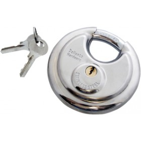 Am-Tech 90mm Disc Padlock
