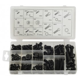 Rolson 180pc Nut & Bolt Assortment