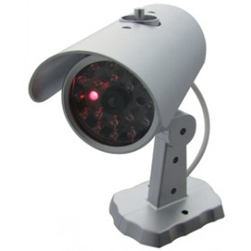 Am-Tech Dummy Security Camera With Flashing LED