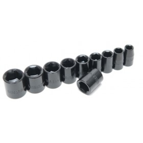 "Rolson 11pc 3/8"" Dr Shallow Impact Sockets"