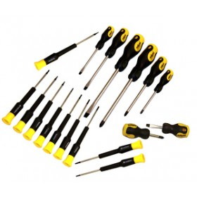 Rolson 18pc Screwdriver Set