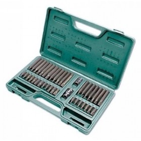 Toolzone 40pc Hex Star Spline Bit Set