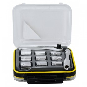 Rolson 36pc Ratchet Bit and Socket Set
