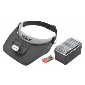 Rolson 2 LED Magnifying Visor