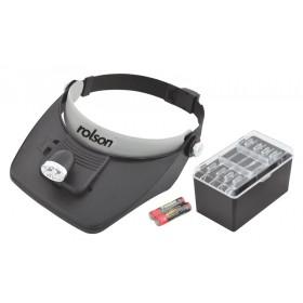 Rolson 2 LED Magnifying Visor