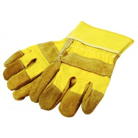 Rolson Heavy Duty Leather Rigger Gloves