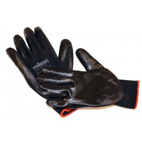 Rolson 4 Pairs Latex Work Gloves
